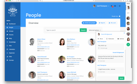 twine messaging and people directory
