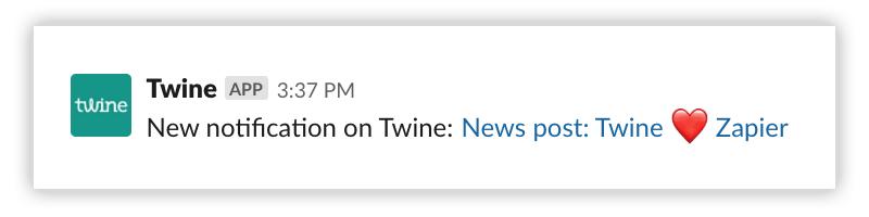 twine-slack